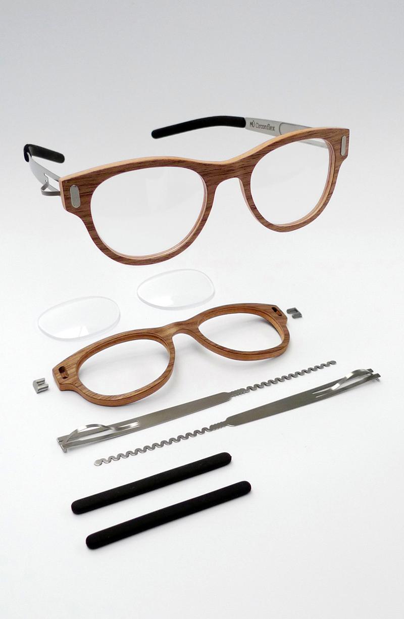 MÛ CIRCONFLEX, wooden eyewear